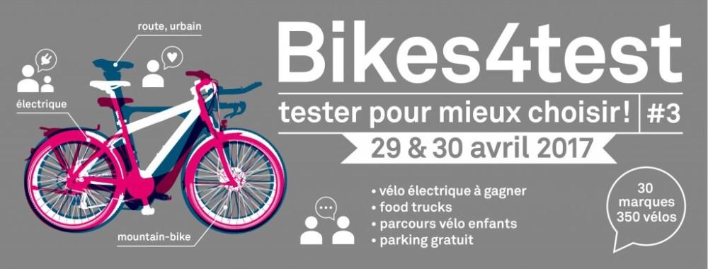 Bikes4Test - Le plus grand test jamais organisé !