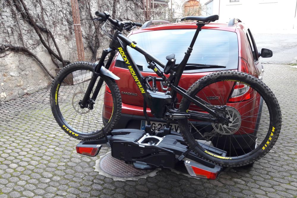 easycycle teste pour vous : Porte vélos Thule Easyfold XT 993