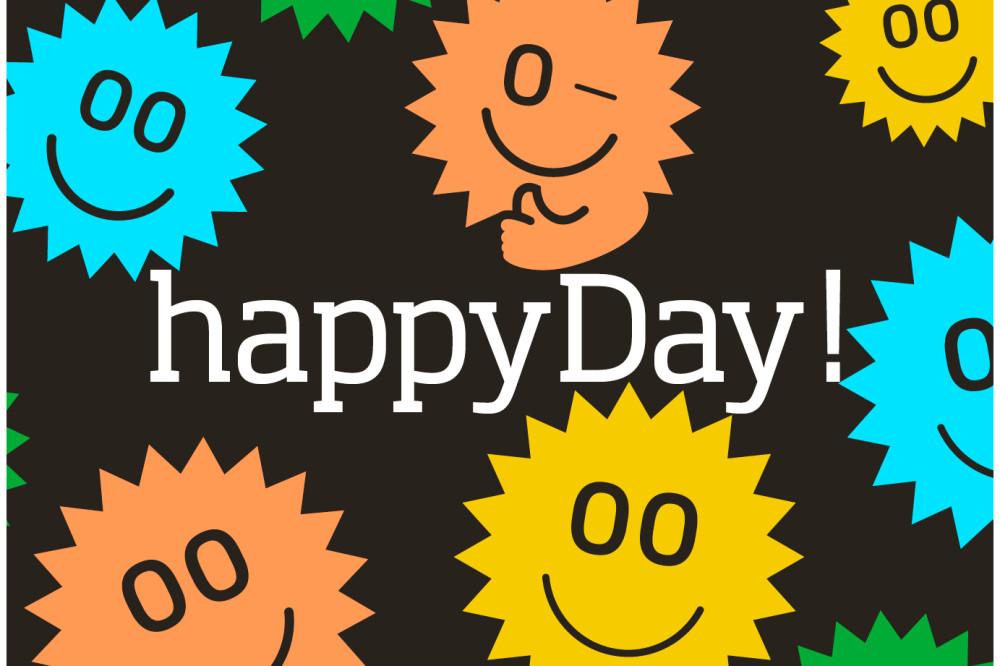 Aujourd'hui, c'est la Journée mondiale du bonheur.